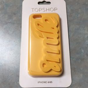 Topshop iPhone 6/6s phone case